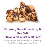 Caramel Dark Sea Salt Popcorn