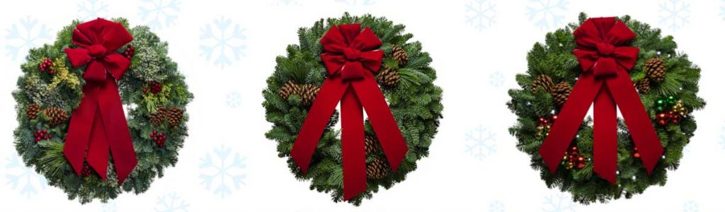 Christmas Wreaths from Christmas Forest