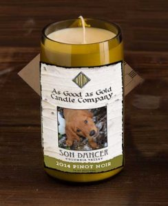 Candle label mock-up