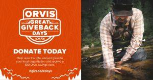 Orvis Giveback Days
