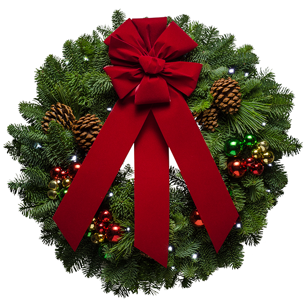 Christmasforestwreath