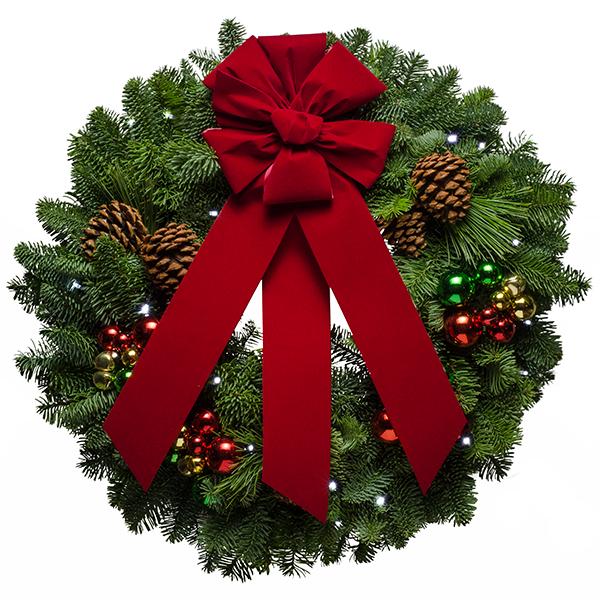 Christmasforestwreath